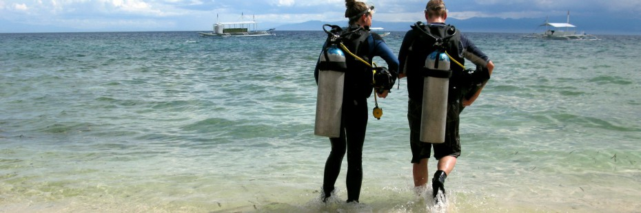 Shore Diving at Cebu Fun Divers